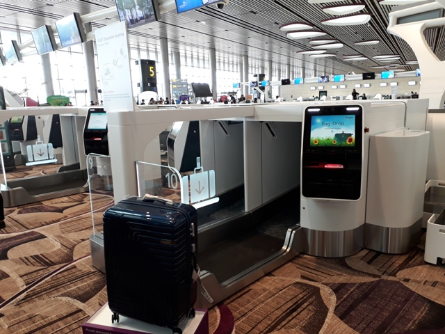 No more check-in counter staff?