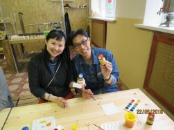 Matryoshka doll making10