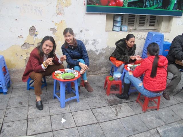 Bustling Hanoi