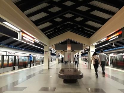 Admiralty MRT platform 1