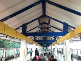 You might notice the color combination is different to the next station