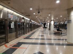 Marina Bay stn EW platform 3
