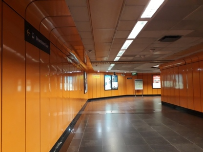 Newton EW walkway