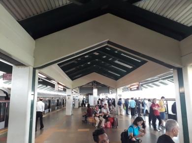 Sembawang MRT Platform 1