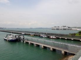 View from Marina South Pier Terminal4