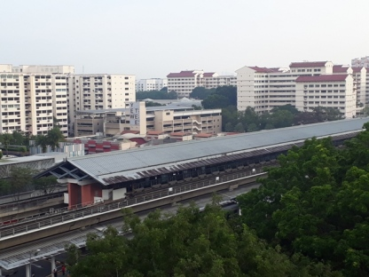 View of Yew Tee Stn2