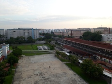View of Yishun MRT 3