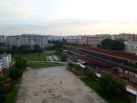 View of Yishun MRT 3