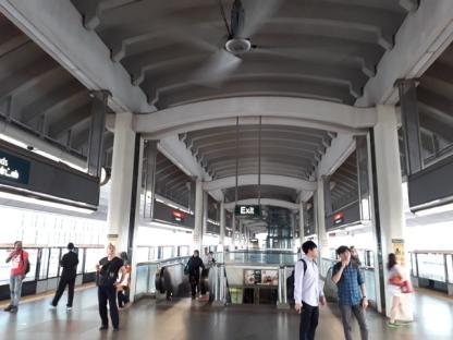 Woodlands MRT platform 5