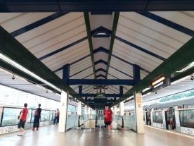 Yishun MRT platform2