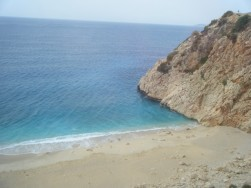 Blue water beaches