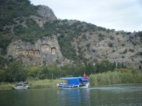 Boattrip to Lycian rockTombs2