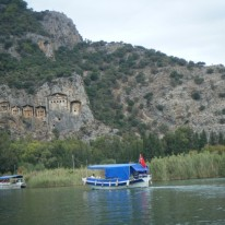 Boattrip to Lycian rockTombs2