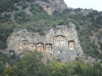 Boattrip to Lycian rockTombs3