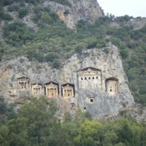 Boattrip to Lycian rockTombs3