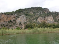 Boattrip to Lycian rockTombs4