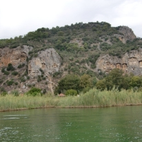 Boattrip to Lycian rockTombs4