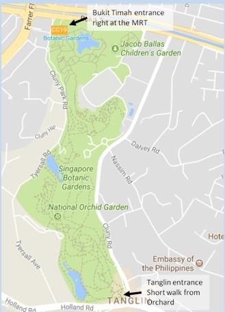 Botanical Garden access