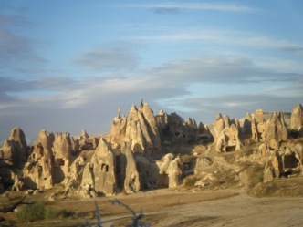 Drive to Goreme Hotel1