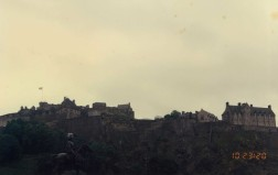 Edinburgh Castle north view