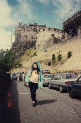 Edinburgh Castle parking