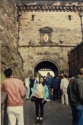 Edinburgh Castle Portcullis gate