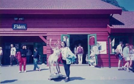Flam railway station 3