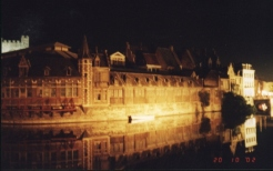 Gent Canal night