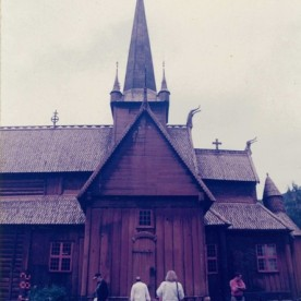 Lom Stave Church 1