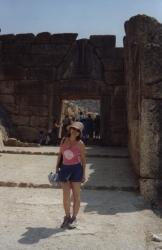 Mycenean Lion gate