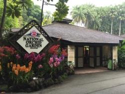 Orchid Garden Entrance