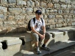 Roman Latrine