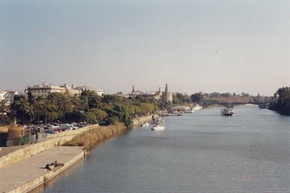 Sevilla - Guadalquivir river 2