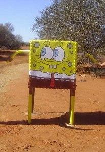 SpongeBob mailbox