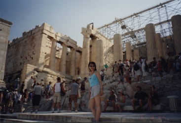 Stairs to the Propylaea