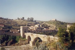 Toledo Alcantara bridge