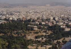 View of Temple of Hephaestus