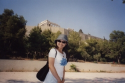 Walking to the Acropolis 1