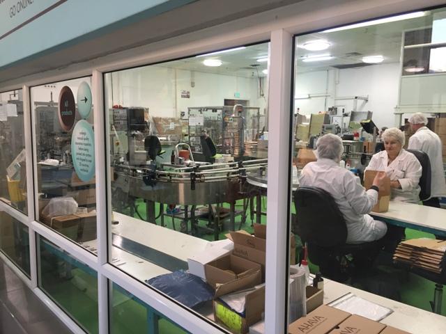 Ahava factory visit 3