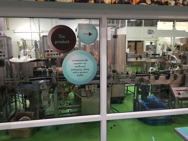 Ahava factory visit 5