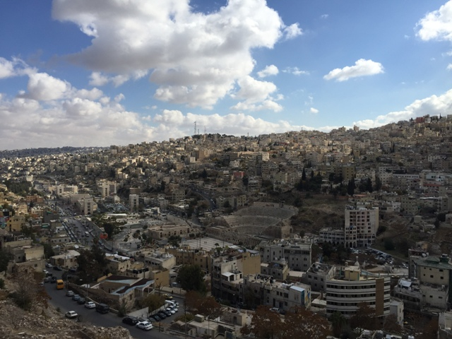 Citadel panoramic view of Amman11