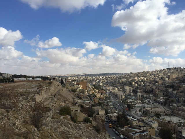 Citadel panoramic view of Amman13