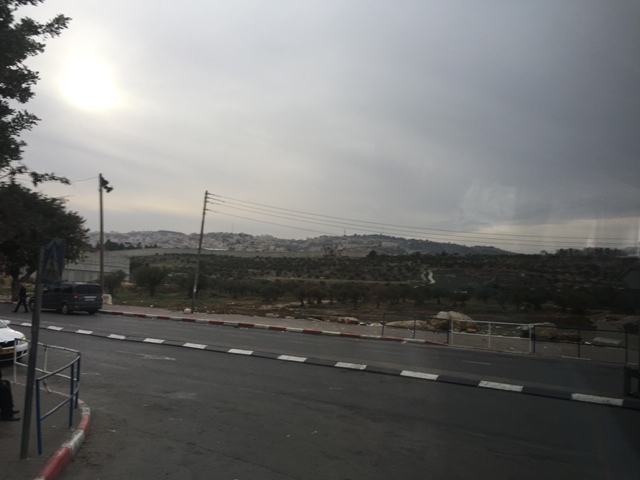 Crossing into Bethlehem