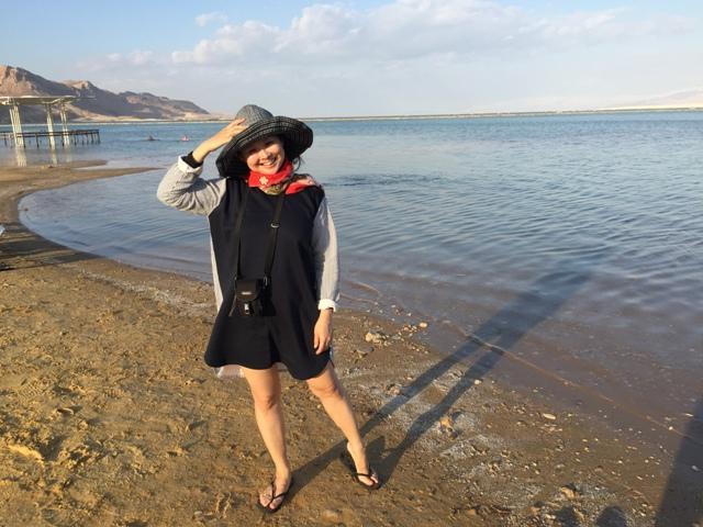 Dead sea swim 13