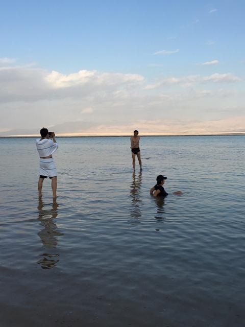 Dead sea swim 37