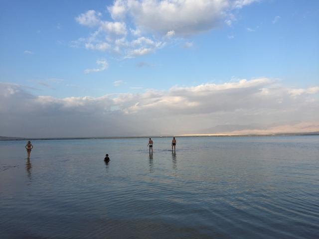 Dead sea swim 39