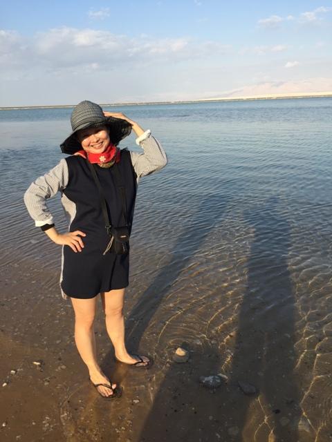 Dead sea swim 9