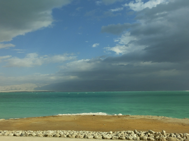 Driving to the dead sea 5