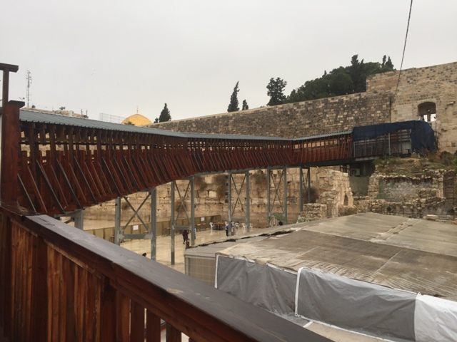 From wailing wall to Temple mount 1