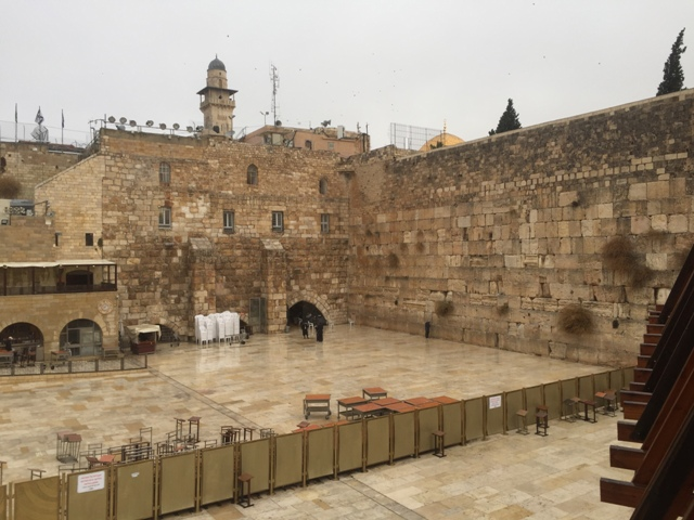 From wailing wall to Temple mount 2